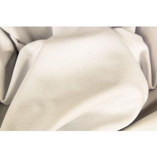 extra breit- Bündchen Heike, Schlauchware , uni weiß