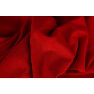 extra breit- Bündchen Heike, Schlauchware , uni rot