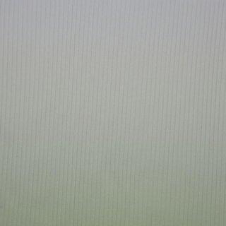Strickbündchen grob, Schlauchware , uni weiß