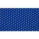 ROYAL STAR - weiße Sterne - royal blau - Jersey