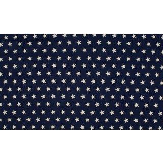 NAVY STAR - weiße Sterne - navy blau - Jersey