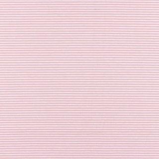 Heavy Jersey Streifen Alt Rosa-Weiß