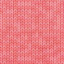 gestricktes Muster gedruckt - rosa - Jersey