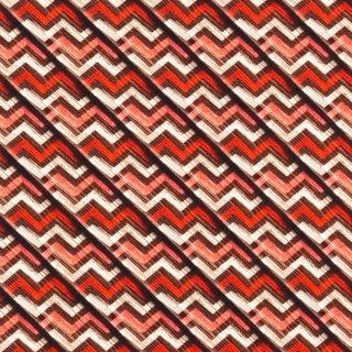 Digital Druck Holz Chevron - braun - Jersey