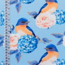 Jersey Digital Printing Bluebird Light Blue