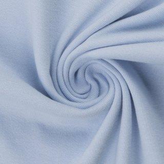 extra breit- Bündchen Heike, Schlauchware , uni hellblau