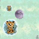 Jersey Panel Tigerbär mint