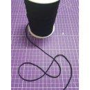 Gummiband Gummikordel Rundgummi ca. 3 mm für Masken - schwarz
