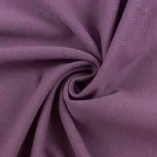 extra breit- Bündchen Heike, Schlauchware , uni lila hell pastell