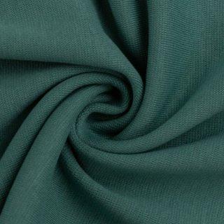 extra breit- Bündchen Heike, Schlauchware , uni smaragd