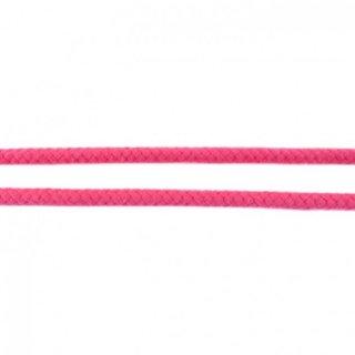 Baumwollkordel geflochten rund 8 mm pink