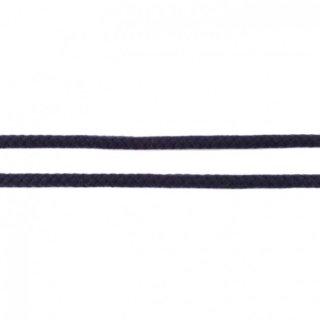 Baumwollkordel geflochten rund 8 mm dunkelblau
