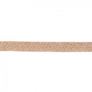 Flache Kordel Multicolor 20 mm Mint-Sand