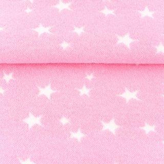 Bündchen Sterne, rosa