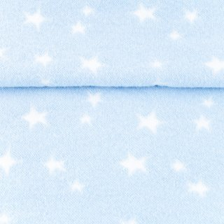 Bündchen Sterne, hell blau