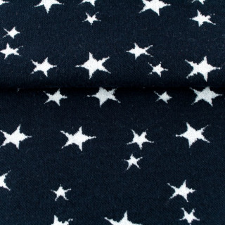 Bündchen Sterne, dunkel blau