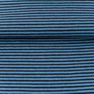 Bündchen Streifen, Schlauchware , jeans
